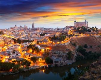 Allgemeine Ansicht von Toledo vom Hügel