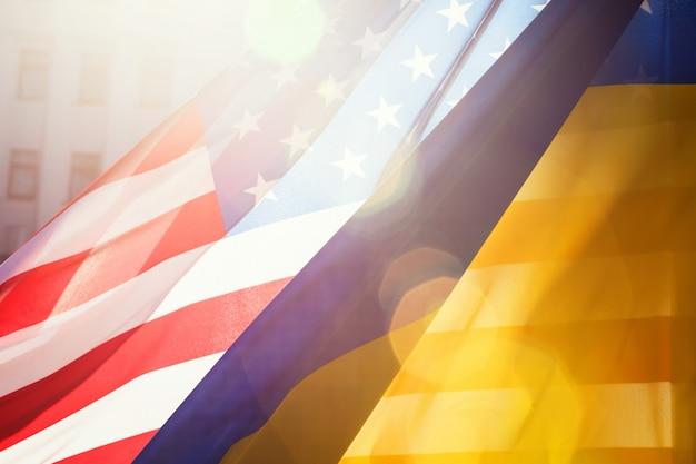 Allianz zwischen der ukraine und den usa
