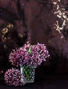 Allium blumen bouquet