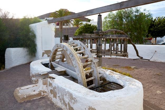 Almeria cabo de gata wassermühle pozo de los frailes