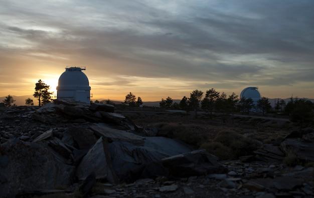 Almeria, spanien, calar alto observatorium