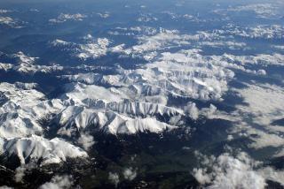 Alpen, bewölkt