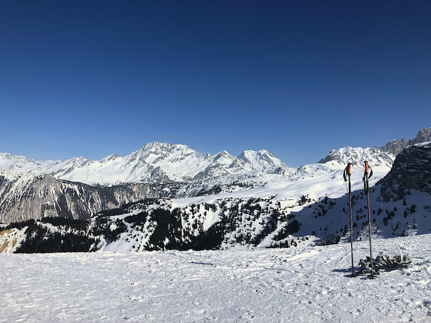 Alpenberge in frankreich