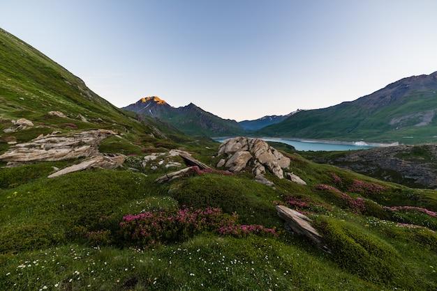 Alpine dämmerung