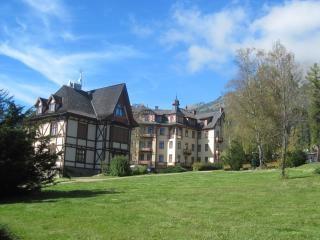 Alpine mountain resort in der slowakei
