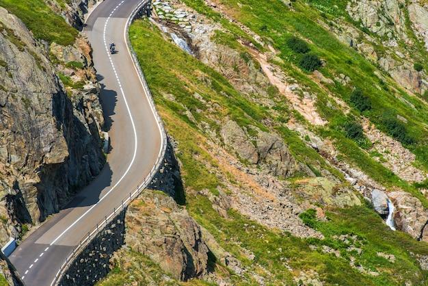 Alpine road sommer radtour