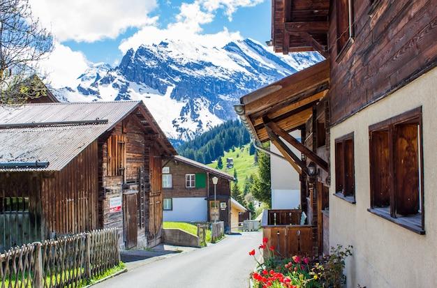 Alpines dorf