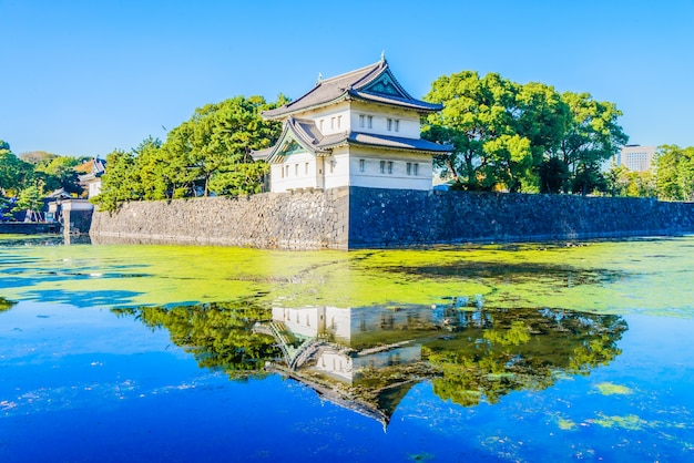 Alt tokio stadtarchitektur japan