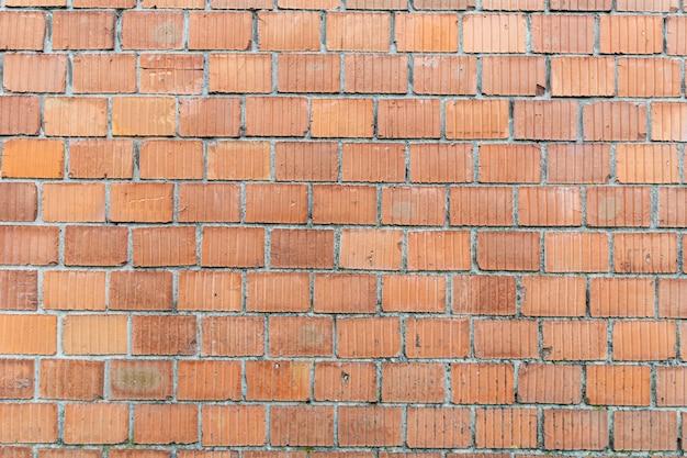 Alte backsteinmauer in einem hintergrundbild.