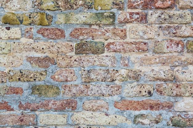 Alte backsteinmauerbeschaffenheit