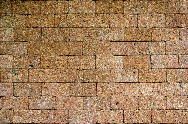Alte backsteinmauern und unscharfes muster