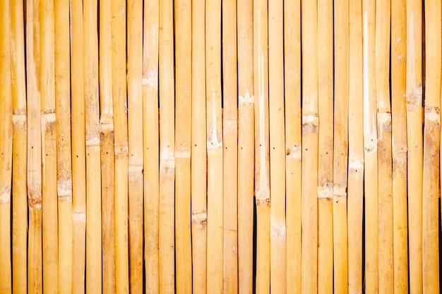 Alte bambusplankenzaunbeschaffenheit für hintergrund