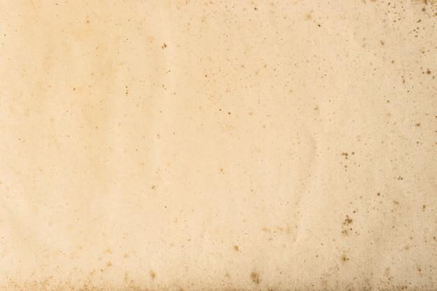 Alte benutzte papierblattbeschaffenheit. leerer kartonhintergrund
