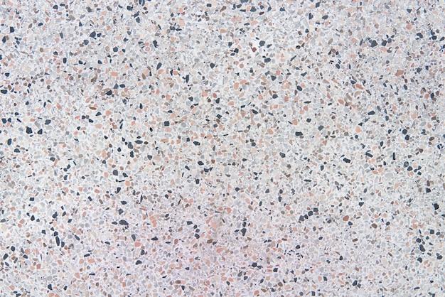 Alte beschaffenheit des terrazzobodens oder polierstein für hintergrund.