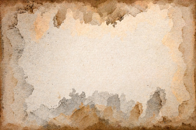 Alte braune papierschmutzfläche