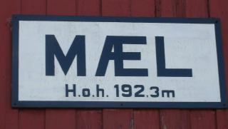 Alte eisenbahn, zeichen