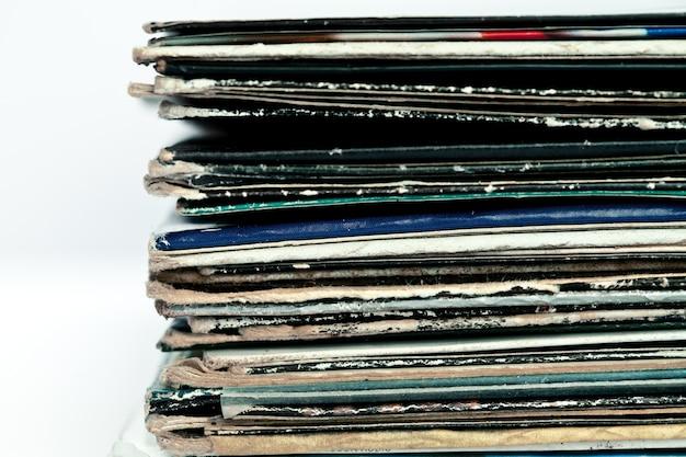 Alte farbige vinyls
