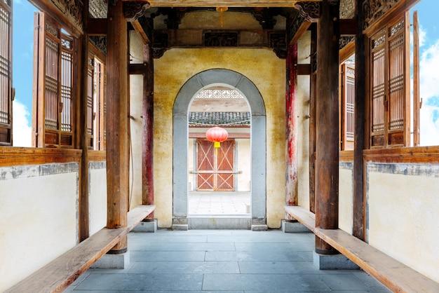 Alte gebäude der huizhou-art, china