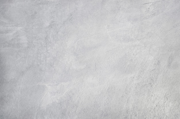 Alte grungy beschaffenheit, weiße graue farbbetonzementwand mit detail des rauen stucks und sprung für hintergrund- und designkunstwerk.