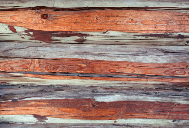 Alte hölzerne beschaffenheit. hintergrund alte platten