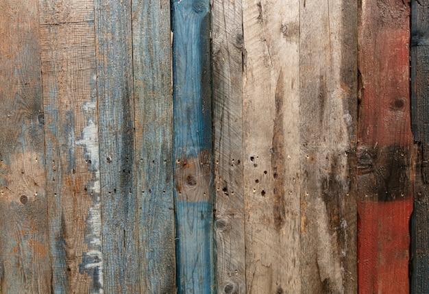 Alte holzstruktur von paletten