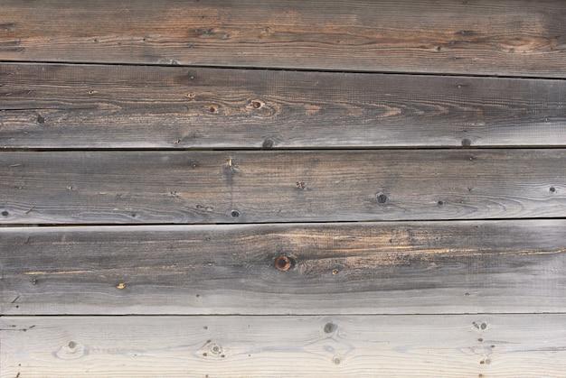 Alte mauer aus brettern
