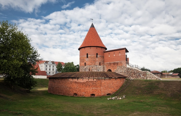 Alte mittelalterliche burg in kaunas