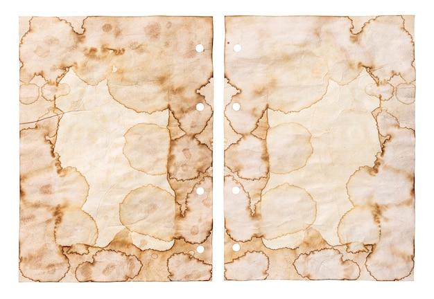 Alte papierbeschaffenheit, weinlesepapierhintergrund