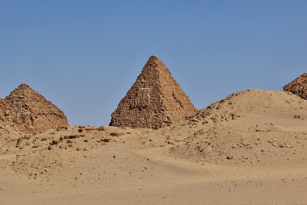 Alte pyramiden von nuri, sudan