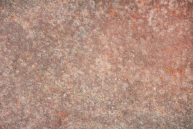 Alte rostige metallbeschaffenheit. abstrakter brauner grunge-eisenhintergrund