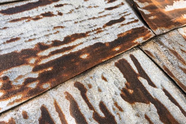 Alte rostige metallische oberfläche