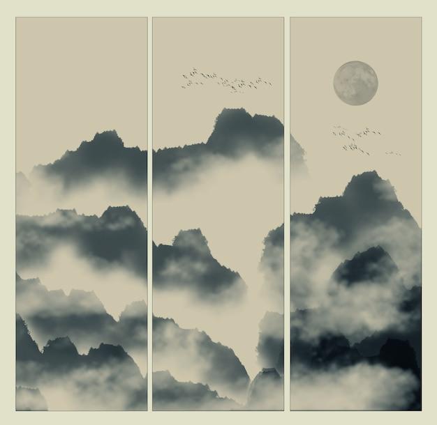 Alte ruhige zen abstrakte felsen