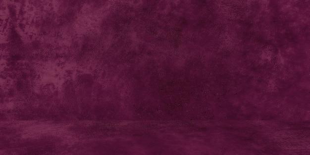 Alte schäbige betonwand textur mit rissiger lila betonstudiowand abstrakter grunge hintergrund...