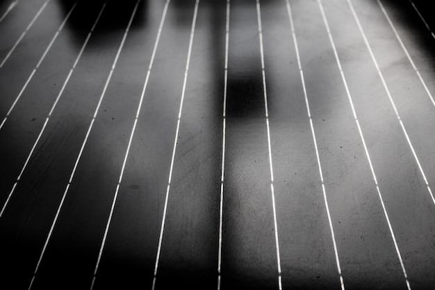 Alte sonnenkollektorbeschaffenheit der nahaufnahme. abstrakter hintergrund