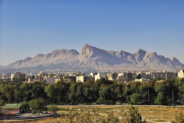 Alte stadt isfahan im iran