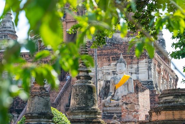 Alte stadt von ayutthaya thailand