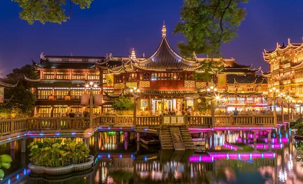 Alte straße shanghais yu garden
