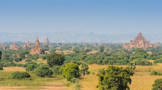 Alte tempel in bagan, myanmar