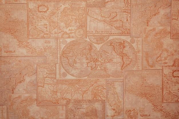 Alte topografische karte