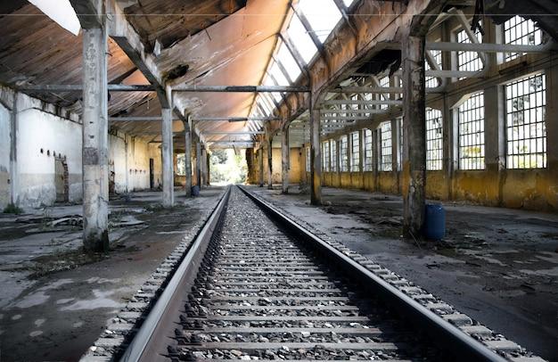 Alte verlassene fabrik