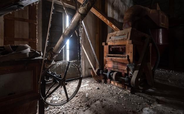 Alte verlassene mehlfabrik