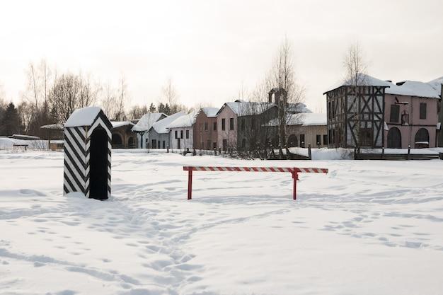 Alte verlassene stadt