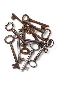 Alte verzierte schlüssel