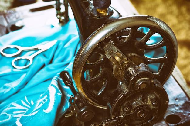 Alte vintage handnähmaschine