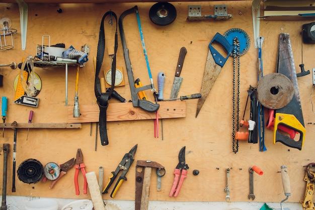 Alte vintage handwerkzeuge