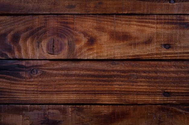 Alte vintage planked holz