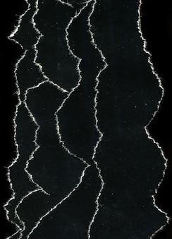 Alte vintage zerrissene schwarze papierbeschaffenheit