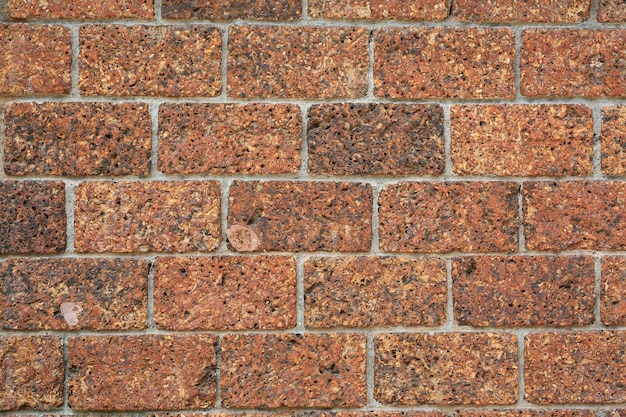 Alte weinlesebacksteinmauer