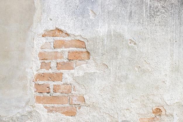 Alte weiße betonwandbeschaffenheit