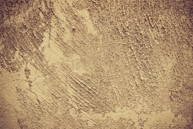 Alte zementbeschaffenheit - schroffer bodenbeton mit betonmischer für baufliesen für boden